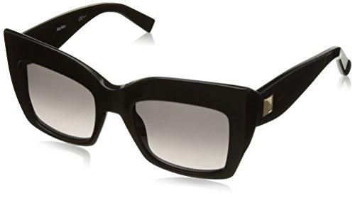 Max Mara Gem I/S 0807 Black EU gray gradient lens - Max Glasses Mara