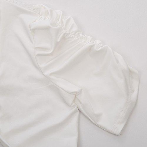 Bolero White Cropped Jacket Lace Shrug Women's Cardigan 705 Sleeve Belle Poque Short YzaqwIP