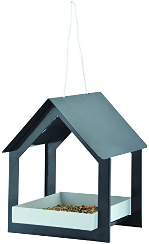 7 Series Anthracite Hanging Bird Table ()