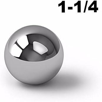 1-1//4 Inch 440 Stainless Steel Ball Bearings G100-7 Balls