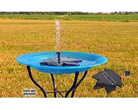 Backyard Essentials Floating Leaf Solar Bubbler