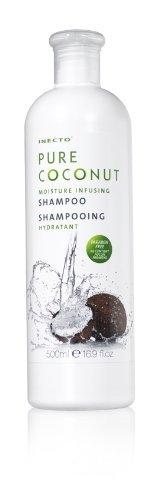 2 x Kokosöl Shampoo von Inecto/ für trockenes und strapaziertes Haar/ 500 ml