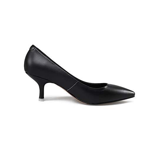 Urethane Solid Dance Ballroom Shoes Casual Womens BalaMasa Pumps APL11003 Black qwSvn