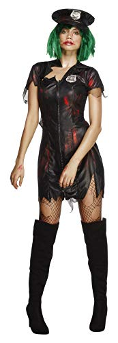 Fever Women's Zombie Cop Costume with Dress and