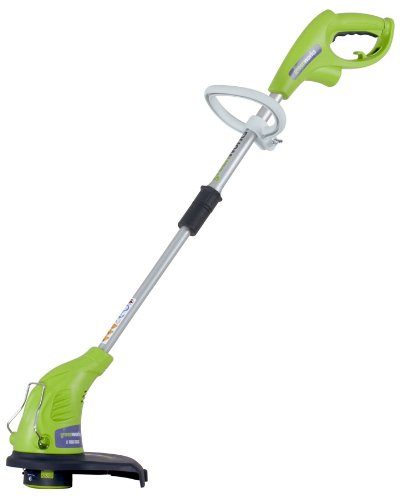 greenworks electric lawn mower - 6