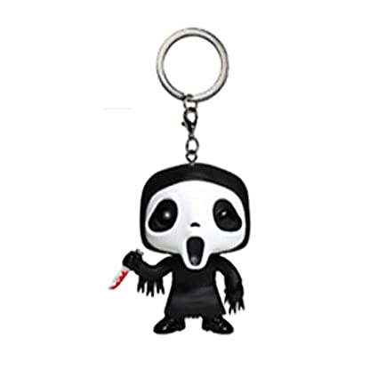 Amazon.com: TIKIDA Horror Keychain Jason Jack Skellington ...