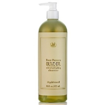 First Pressed Olive Oil (Serious Skincare First Pressed Olive Oil Emulsifying Cleanser Extra Large 16 Oz Pump)