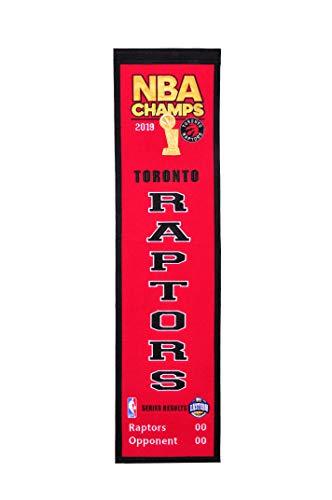 Winning Streak NBA Toronto Raptors Unisex 2019 NBA Champs Toronto Raptors Heritage Banner2019 NBA Champs Toronto Raptors Heritage Banner, red, Banner ()