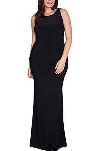 NEW Femme Plus Noir Taille ruché réversible Maxi robe robe de soirée usure Plus Taille 14–16