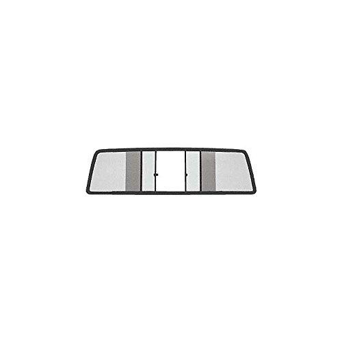 MACs Auto Parts 48-40810 -72 Ford Pickup Sliding Rear Window, Dark Gray Tinted Glass