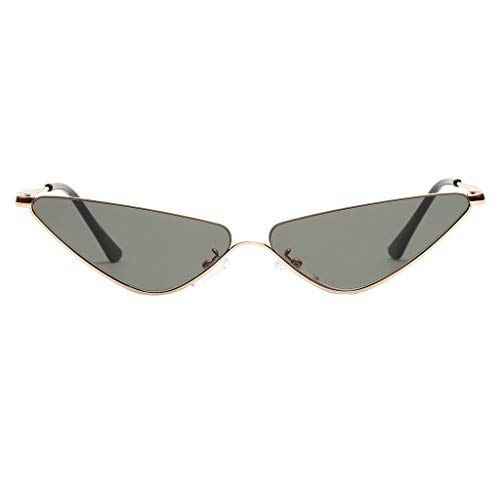 DDKK New Unisex Polarized Vintage Colorful Eye Sunglasses Irregular Frame Retro Eyewear Fashion Radiation Protection
