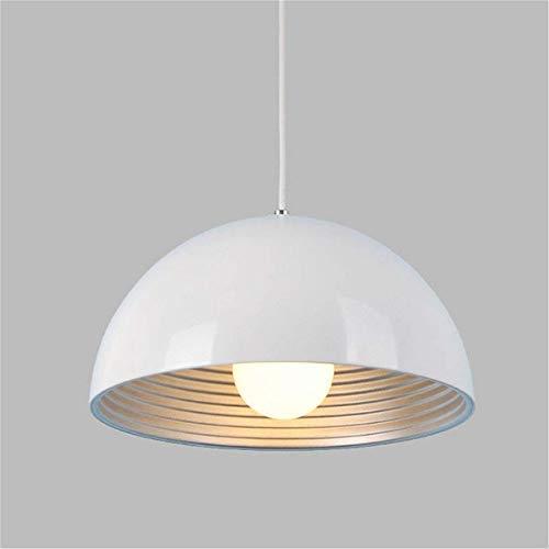 SISVIV Lampada a Sospensione Vintage Industriale Lampadario in Metallo per  Cucina Sala da Pranzo Ristorante Bianco E27