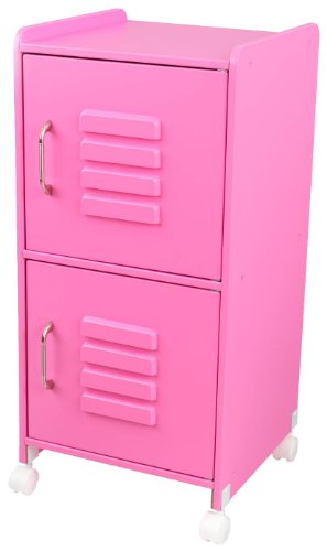 KidKraft Medium Locker-Bubblegum