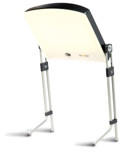 Day-Light Sky Bright Light Therapy Lamp Provides 10000 LUX of Glare-Free White Light Supporting The Fight Against Seasonal Affective Disorder Therapy