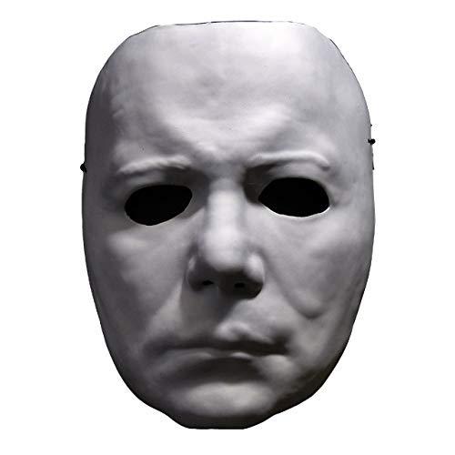 Trick Or Treat Halloween II Michael Myers Vacuform Adult Costume Mask TTUS127 ()