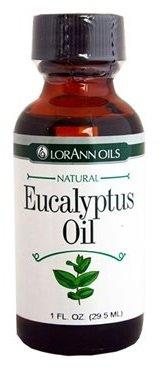 LorAnn Eucalyptus Oil, Natural, 1 fl oz Per Bottle