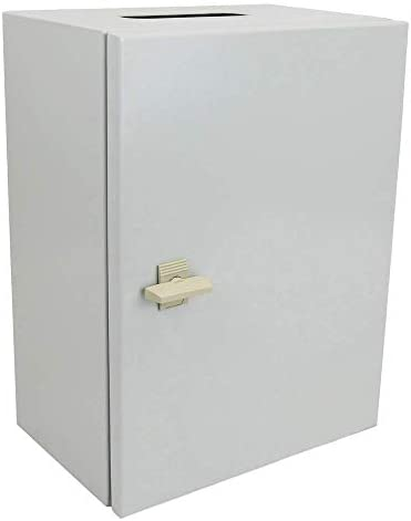 BeMatik - Caja de distribución eléctrica metálica con protección IP65 para fijación a Pared 500x400x200mm: Amazon.es: Electrónica