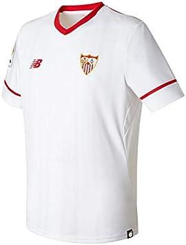 New Balance Sevilla FC MC Primera Equipación 2017-2018 Niño ...