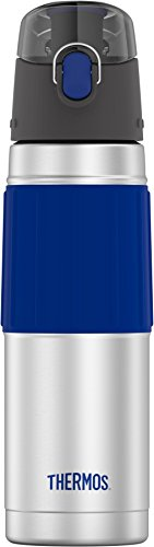 Thermos 18 Ounce Stainless Steel Hydration Bottle, Royal Blue by Thermos