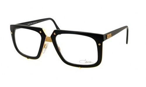 Cazal 643 Eyeglasses 001 Shiny Black and Gold - Men Cazal For Glasses