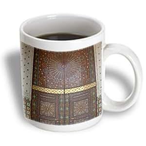 Danita Delimont - Doorways - Morocco, Casablanca. Royal Palace, Harem doors -AF29 CMI0046 - Cindy Miller Hopkins - 11oz Mug (mug_71576_1)