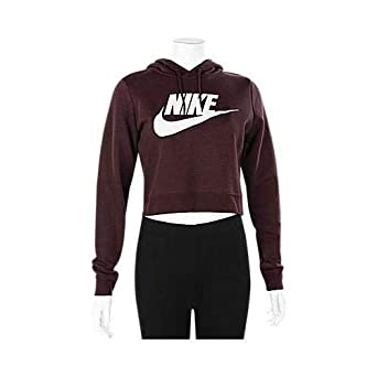 cffe8295e2a3 Image Unavailable. Image not available for. Color  Nike Women s Sportswear Rally  Cropped Hoodie