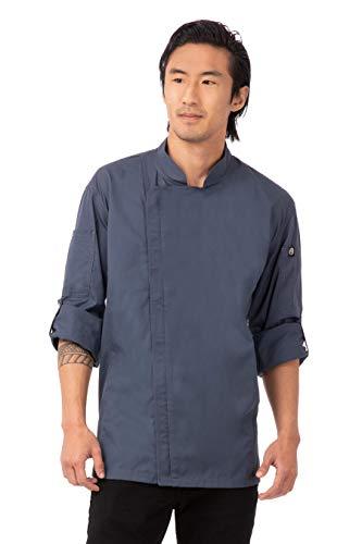 blue chef coat - 9