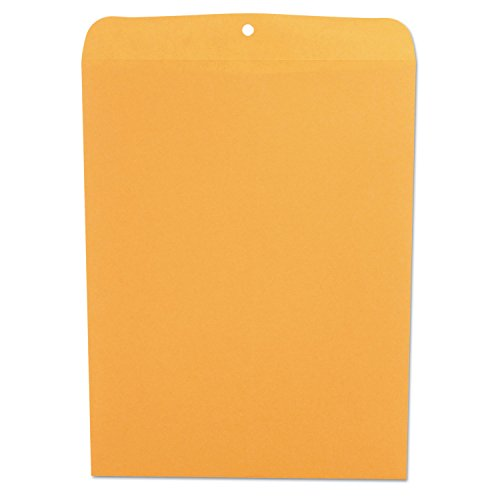 Universal 35270 Kraft Clasp Envelope, Center Seam, 28lb, 12 x 15-1/2, 100/Box