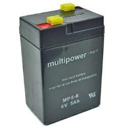 Bleiakku 6V 4.5Ah Multipower 101x45x70mm Akku