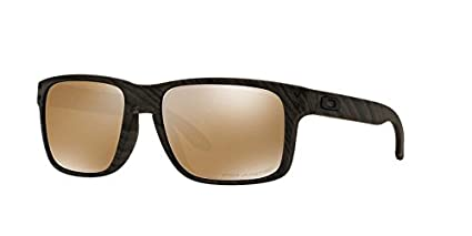ce939b72579 order oakley holbrook sunglasses woodgrain tungsten iridium polarized one  size 3477d 5b869