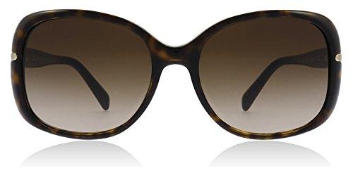 (Prada SPR 08O 2AU-6S1 Havana Sunglasses SPR08O - 57mm)