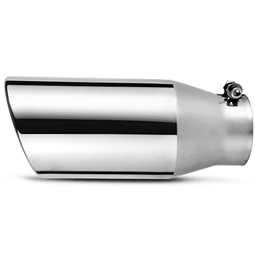 3.5 Inch Inlet Chrome Exhaust Tip, AUTOSAVER88 3.5