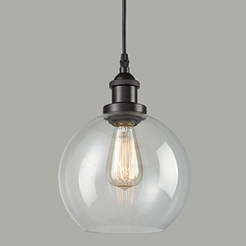 Pendant Lights With Clear Glass Globes in Florida - 3