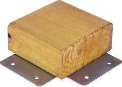 【永大産業】デッキパネルユニット<天然木タイプ> コーナーキャップ パイン色 1個入り