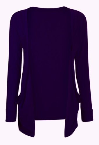 Cardigan Boyfriend Large les Toutes de Fille Medium Disponible Femme Violet Couleurs B4xrgB
