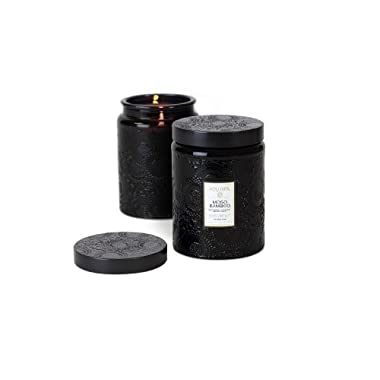 Voluspa Moso Bamboo Large Glass Jar Candle 16 oz