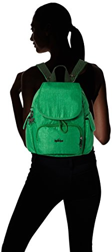 Kipling City Pack Mini - Mochilas Mujer Verde (Wild Greeny)