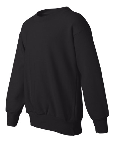 Hanes Youth 7.8 oz. ComfortBlend 50/50 Fleece Crew, Ash Grey, X-Large (Crewneck Youth Sweatshirt Comfortblend)
