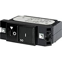 The Excellent Quality Blue Sea 7428 Single Pole Small Case 2 Slot Reset Rocker Circuit Breaker - 15 Amp by Blue Sea Systems