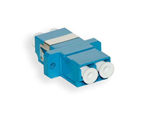 LC Female Coupler | Duplex Singlemode or Multimode LC Female to LC Female Couplers | FiberCablesDirect | f/f lc/lc female/female adapter sm mm couplers lc-lc female adapter/coupler