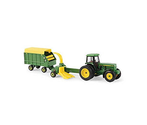 1/64 Scale John Deere 4960 Tractor with Forage Harvester & Wagon - LP67313