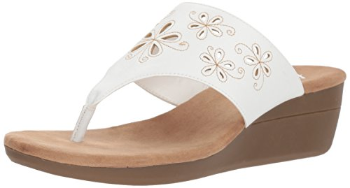 Aerosoles Womens Air Flow Wedge Sandal