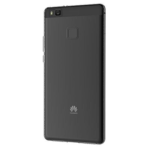 Huawei P9 Lite Hülle Case, AICEK Ultra-Clear P9 Lite Case Silikon Soft TPU Crystal Clear Premium Durchsichtig Handyhülle Schutzhülle Case Backcover Bumper Slimcase für P9 Lite
