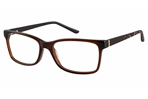 c02c179224 Elle Women s Eyeglasses EL13422 EL 13422 BR Brown Full Rim Optical Frame  53mm