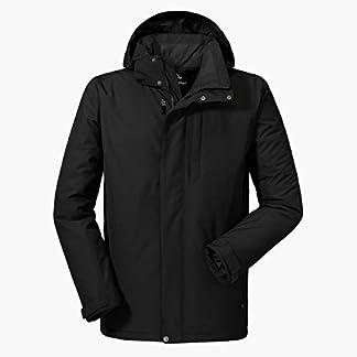 Schöffel Insulated Jacket Belfast2, wind- und wasserdichte Winterjacke, warme und atmungsaktive Outdoor Jacke mit höchstem Tragekomfort Herren, black, 48 6