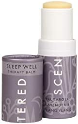 Scentered Sleep Well Aromatherapy Balm Stick - Sleep Aid for Restful Sleep & Bedtime Relaxation - Lavender