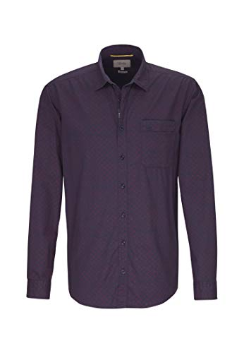 midnight 15 Camel Blue Core Chemise Blau Active Homme Casual CpwvqC