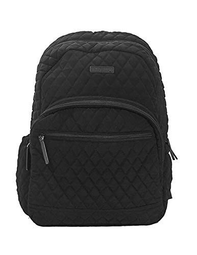 Vera Bradley Large Classic Black Essential Backpack by Vera Bradley
