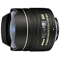 Nikon AF DX NIKKOR 10.5mm f/2.8G ED Fixed Zoom Fisheye Lens with Auto Focus for Nikon DSLR Cameras Overview Review Image