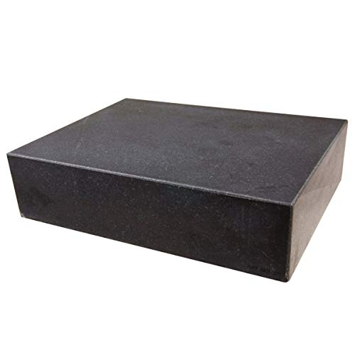 HHIP 4401-0011 Granite Surface Plate, Grade B, Ledge 0, 12